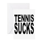Tennis Sucks Greeting Card