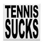 Tennis Sucks Tile Coaster