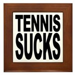 Tennis Sucks Framed Tile