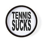 Tennis Sucks Wall Clock