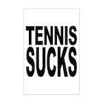 Tennis Sucks Mini Poster Print