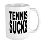 Tennis Sucks Large Mug