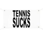 Tennis Sucks Banner