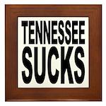 Tennessee Sucks Framed Tile