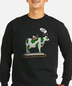 Grass Cow and Goats T