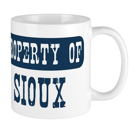 Property of Sioux Mug