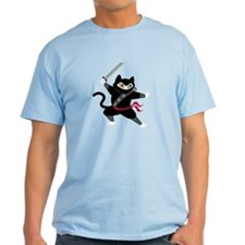 T-Shirt -Ninja Cat