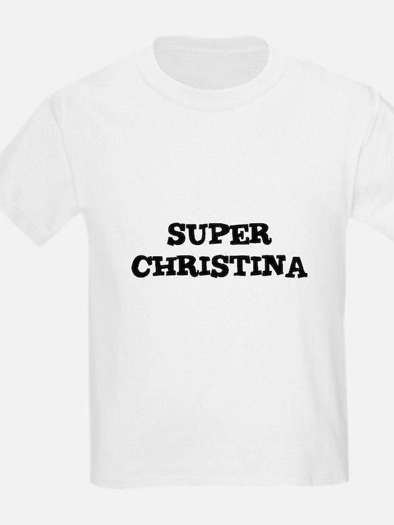 Super Christina Kids T-Shirt