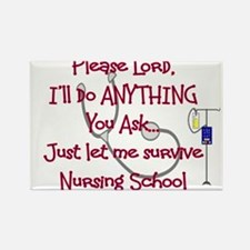 Student Nurse Rectangle Magnet