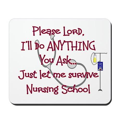 Student Nurse Mousepad