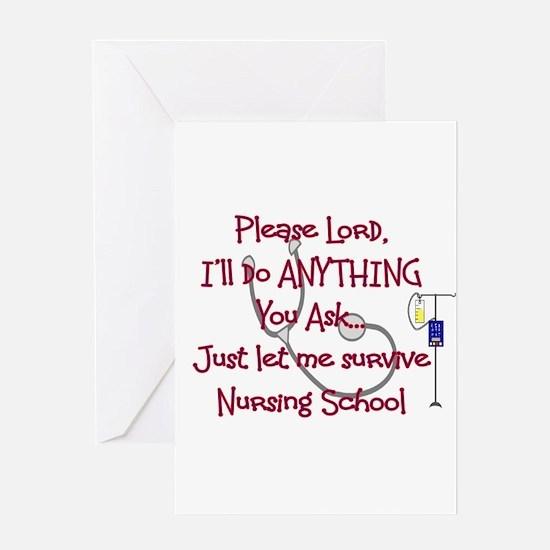 Student Nurse Greeting Card
