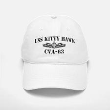 USS KITTY HAWK Baseball Baseball Cap