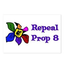 Repeal Prop 8 Postcards (Package of 8)