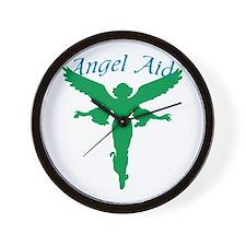 Angel Aid Wall Clock