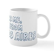 Kiss me: Buenos Aires Mug