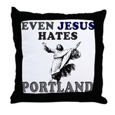 Unique Portland Throw Pillow