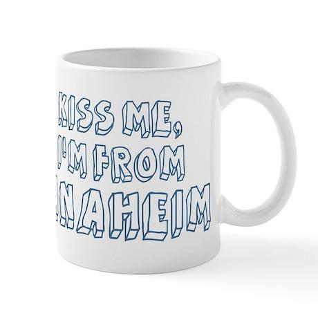 Kiss me: Anaheim Mug