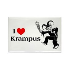 I *heart* Krampus Rectangle Magnet