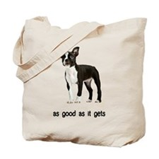 Good Boston Terrier Tote Bag