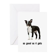 Good Boston Terrier Greeting Cards (Pk of 10)