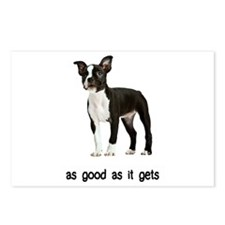 Good Boston Terrier Postcards (Package of 8)