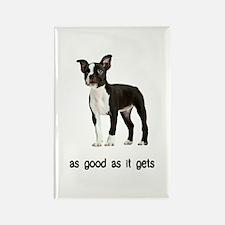 Good Boston Terrier Rectangle Magnet
