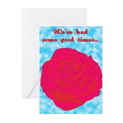 gentle breakup Greeting Cards (Pk of 20)