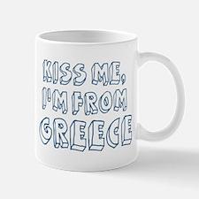 Kiss me: Greece Mug