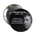 Politics: Edmund Burke Button