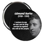 Politics: Edmund Burke Magnet