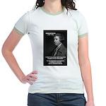 Politics: Edmund Burke Jr. Ringer T-Shirt