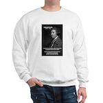 Politics: Edmund Burke Sweatshirt