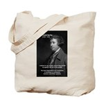 Politics: Edmund Burke Tote Bag