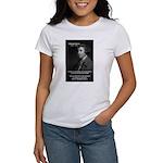 Politics: Edmund Burke Women's T-Shirt
