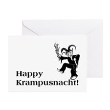 Happy Krampusnacht! Greeting Cards (pack of 10)