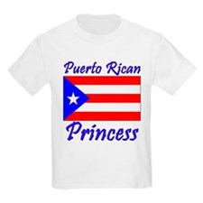 Puerto Rican Princess Kids T-Shirt