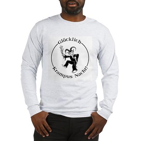 Glucklich Krampus Nacht! Long Sleeve T-Shirt