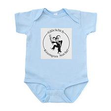Glucklich Krampus Nacht! Infant Bodysuit