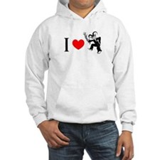 I *heart* Krampus Hoodie
