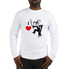 I *heart* Krampus Long Sleeve T-Shirt