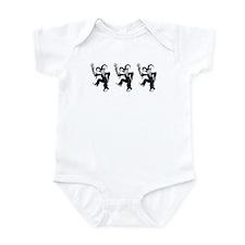 Krampus Trio Infant Bodysuit