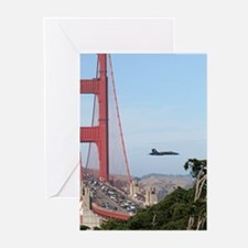 SF BAY GIFTS- Blue Angels, SF GREETING CARDS