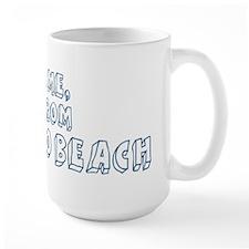 Kiss me: Pompano Beach Mug