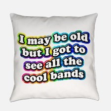 All The Cool Bands Everyday Pillow