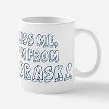 Kiss me: Nebraska Mug