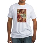 Euclid: Math and Philosophy Fitted T-Shirt