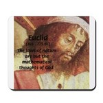 Euclid: Math and Philosophy Mousepad