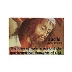 Euclid: Math and Philosophy Rectangle Magnet (100