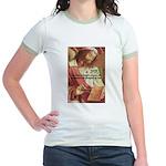Euclid: Math and Philosophy Jr. Ringer T-Shirt