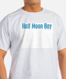 Half Moon Bay - Ash Grey T-Shirt